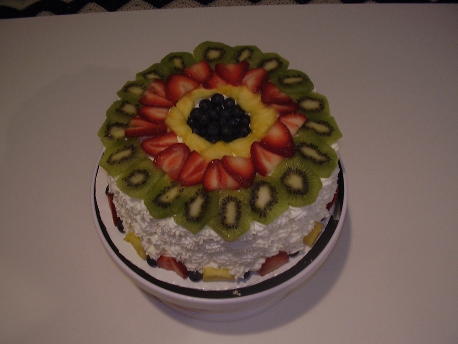 Fresh Fruit on Cake Central