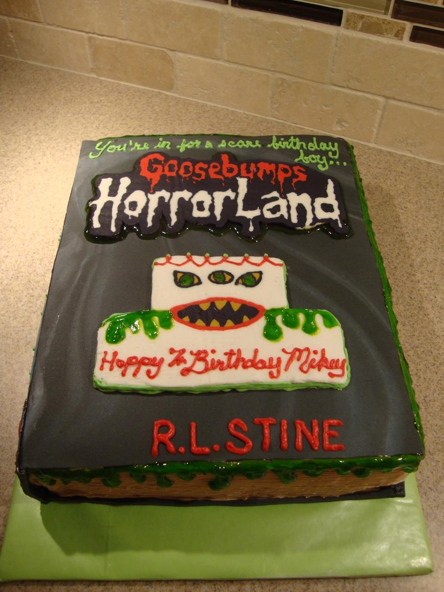 Goosebumps Birthday Cake