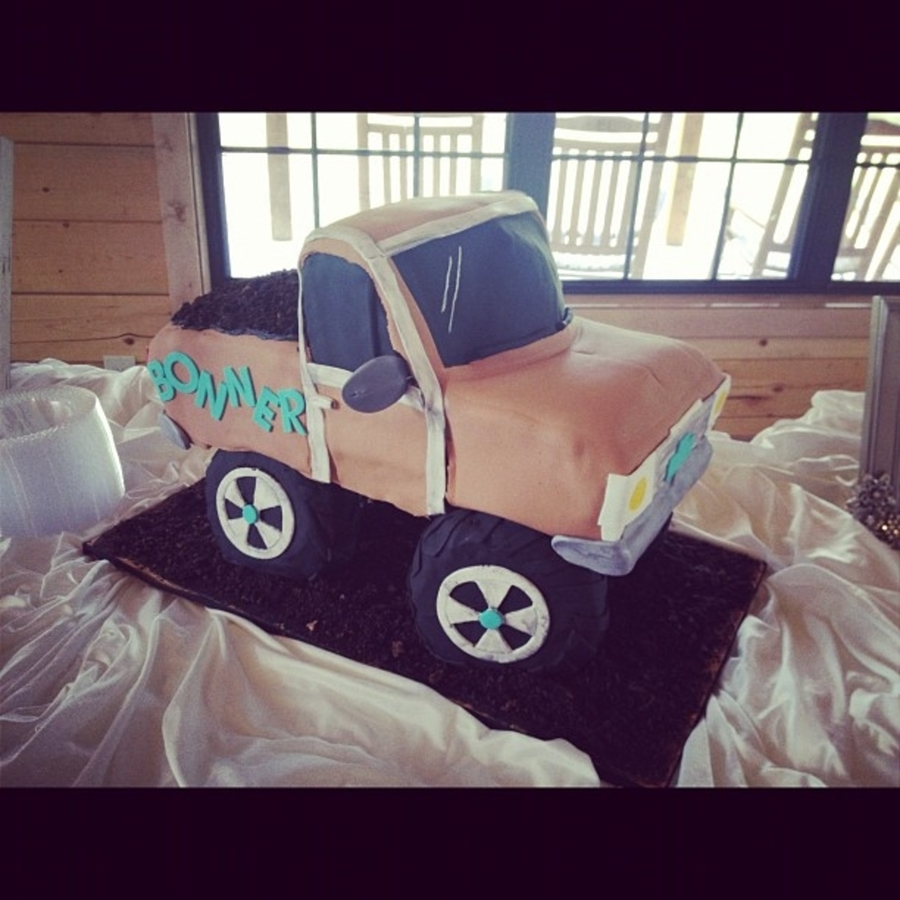 Chevy Pickup Truck on Cake Central