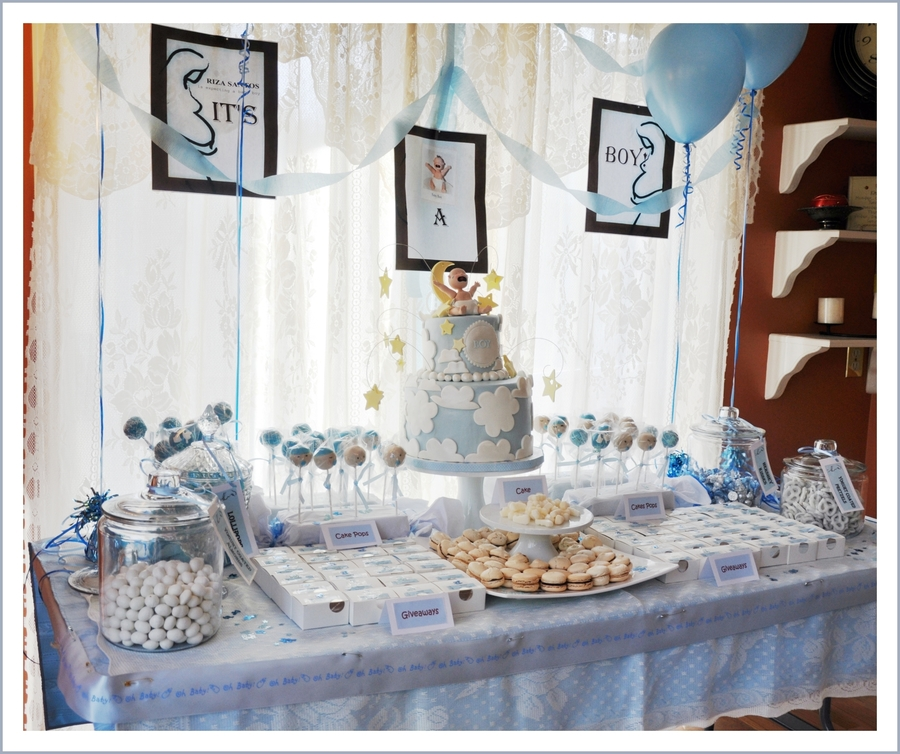 Baby Shower Dessert Table Cakecentral