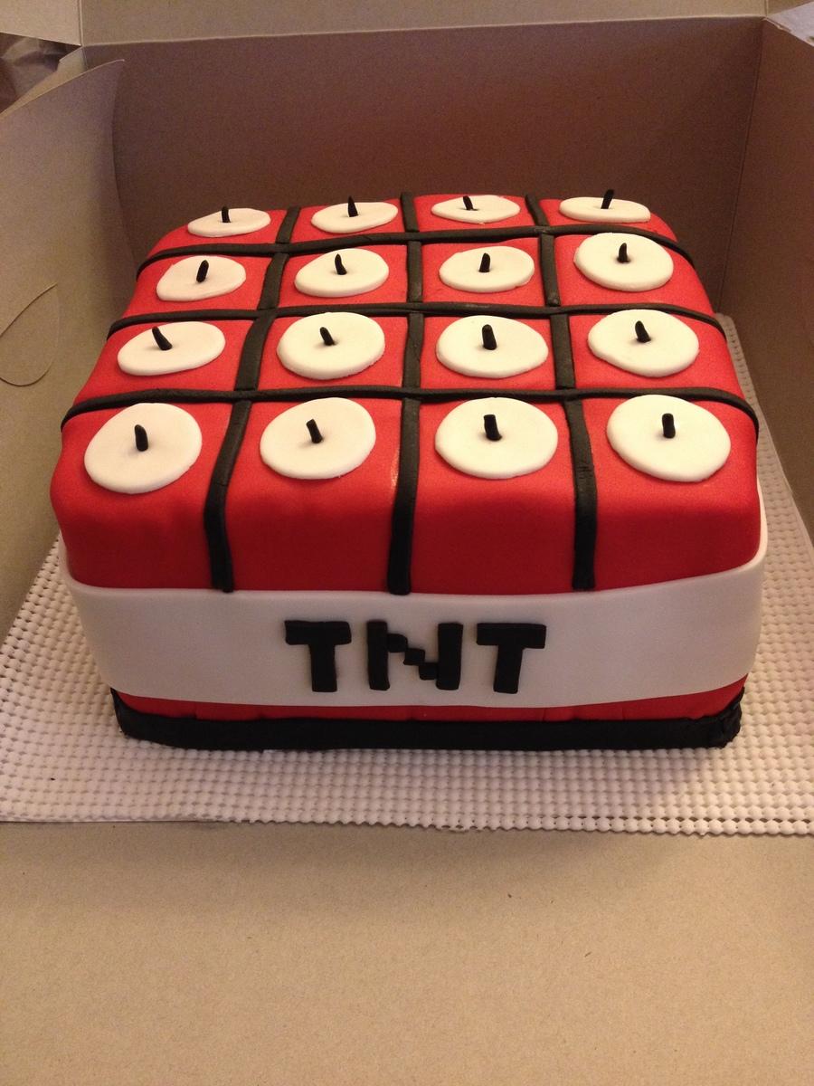 Minecraft Tnt Cake Cakecentral Com