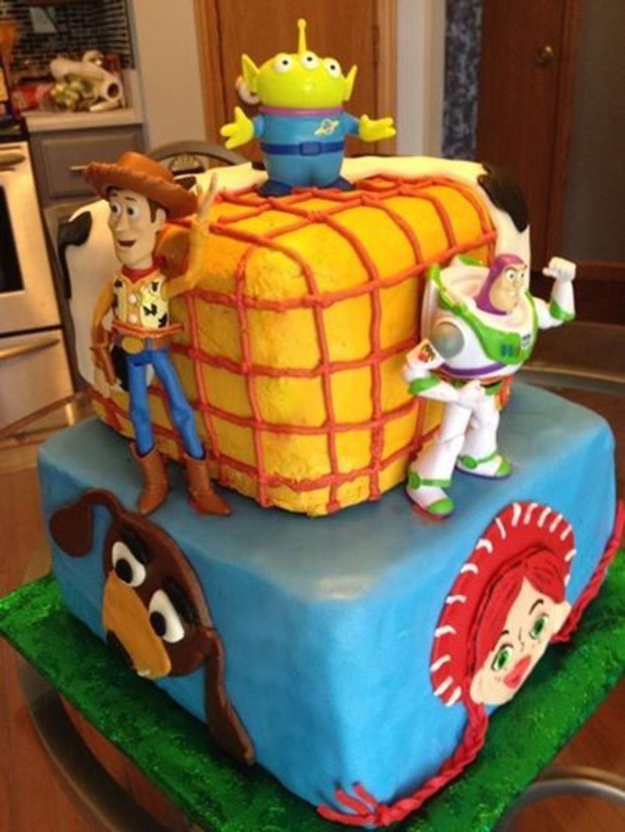 Toy Story Cakes For Boys : Toy story cake for a year old boy the is dark