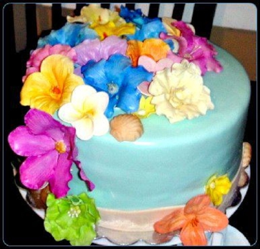 Floral Cake on Cake Central