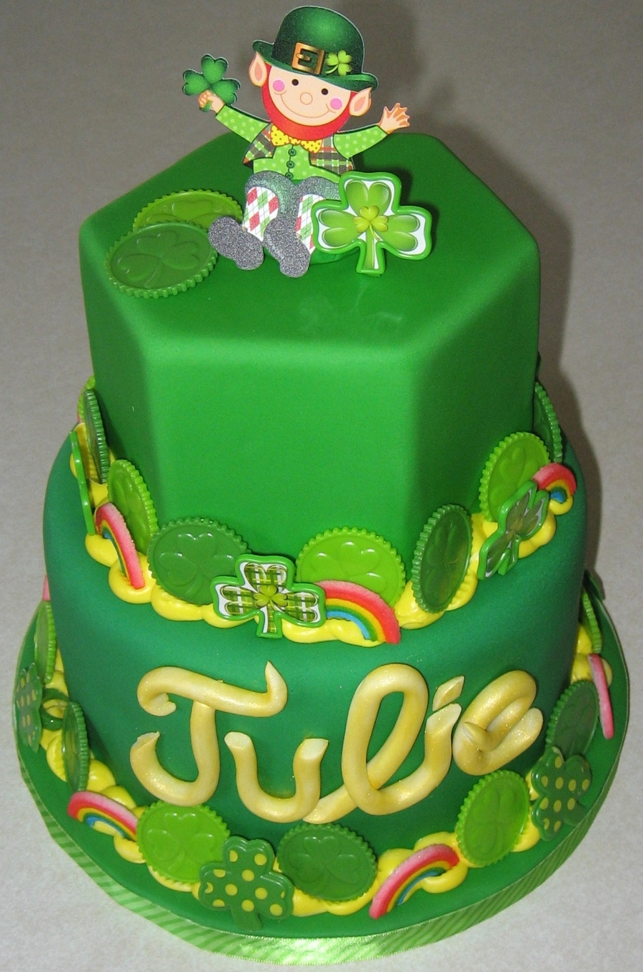 St Patty's Birthday on Cake Central