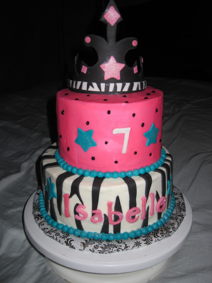 Zebra Princess on Cake Central