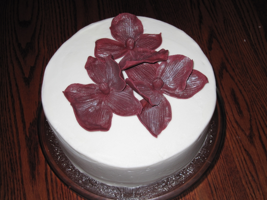 Orchids on Cake Central