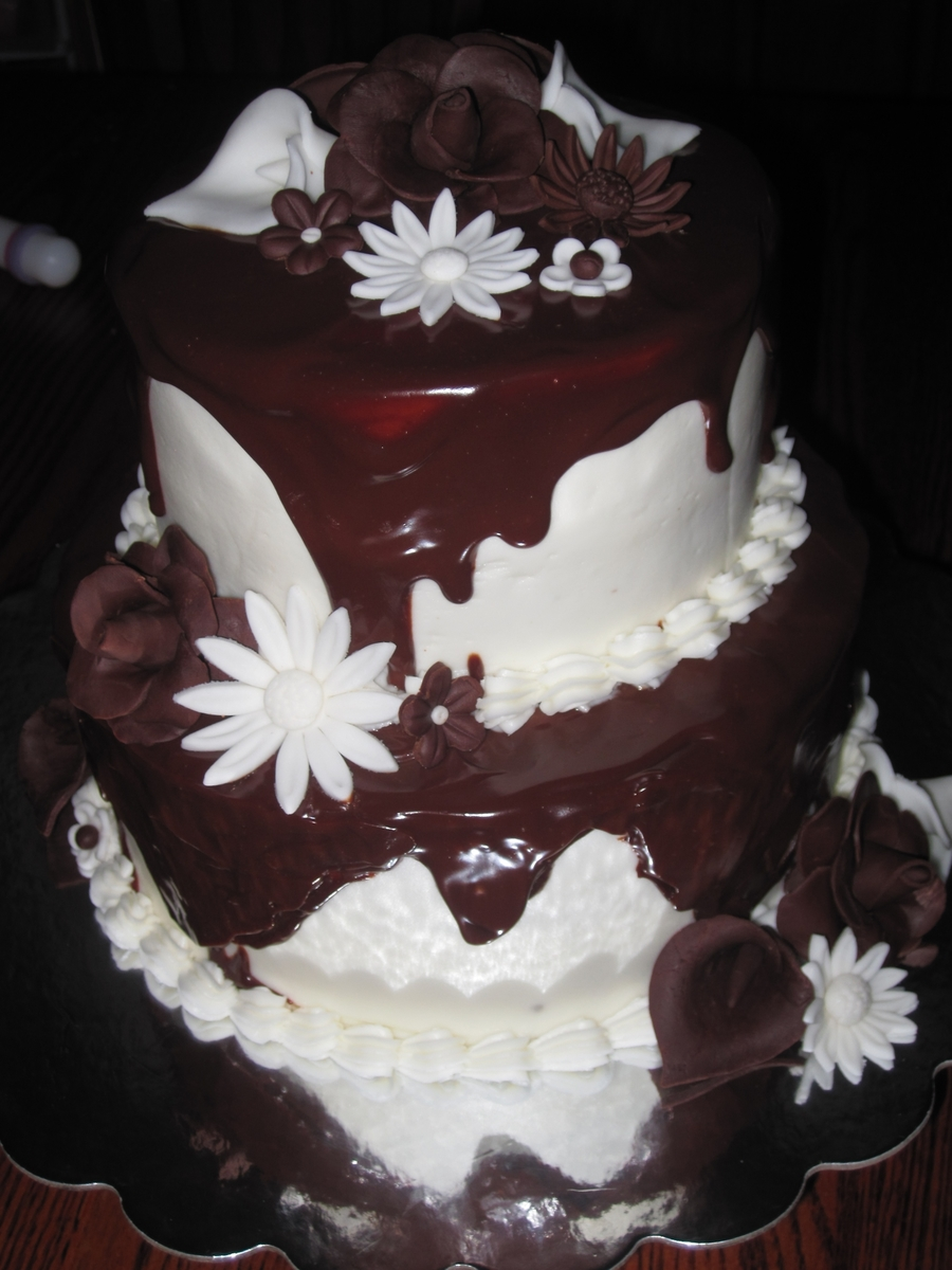 Dark And White Chocolate on Cake Central