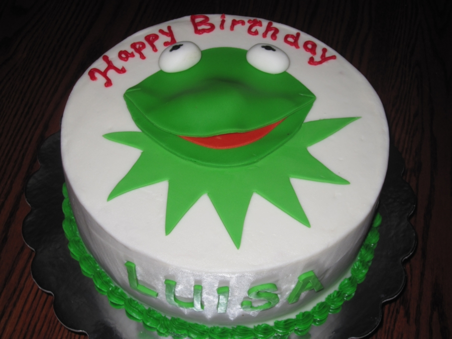 Kermit on Cake Central