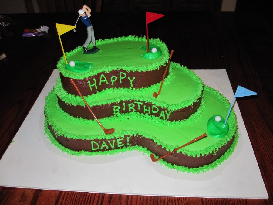 Golf Course  on Cake Central