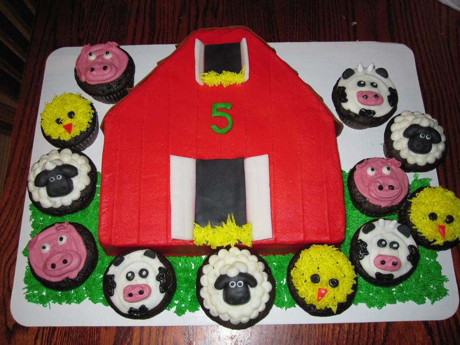 Barn Cut From A 10 Square Covered With Buttercream With Fondant Shingles And Doorwindow Openings Doors And Shingles Are Airhead Candies on Cake Central