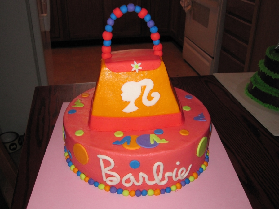Barbie Purse  on Cake Central