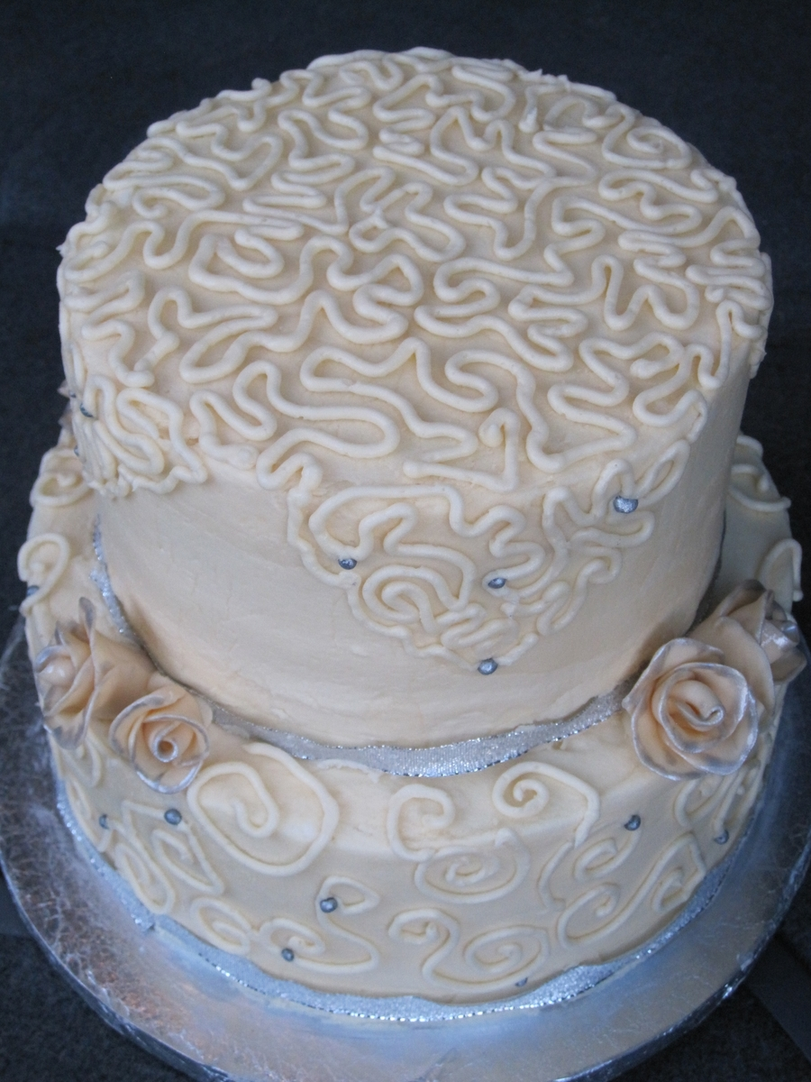 Lace Wedding on Cake Central