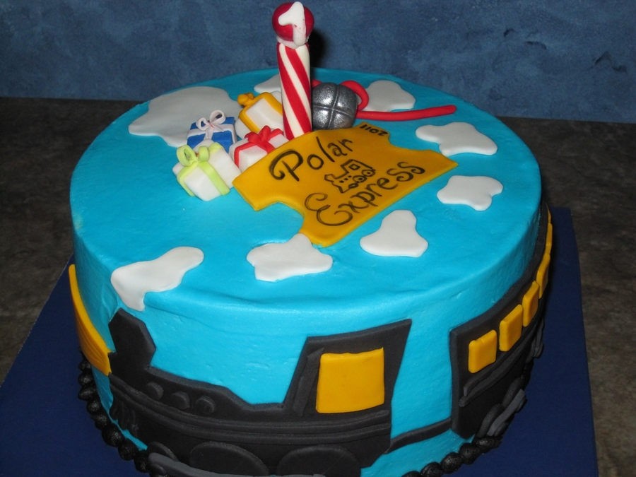 Polar Express on Cake Central