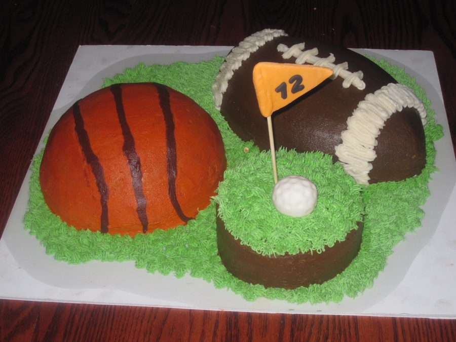 Multi Sport Birthday on Cake Central