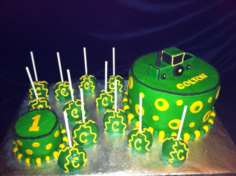 John Deere Birthday on Cake Central