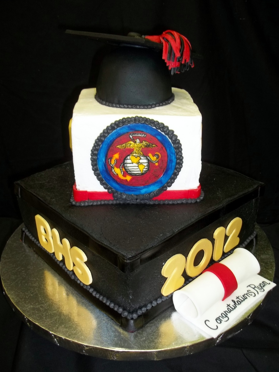 High School To The Marines on Cake Central