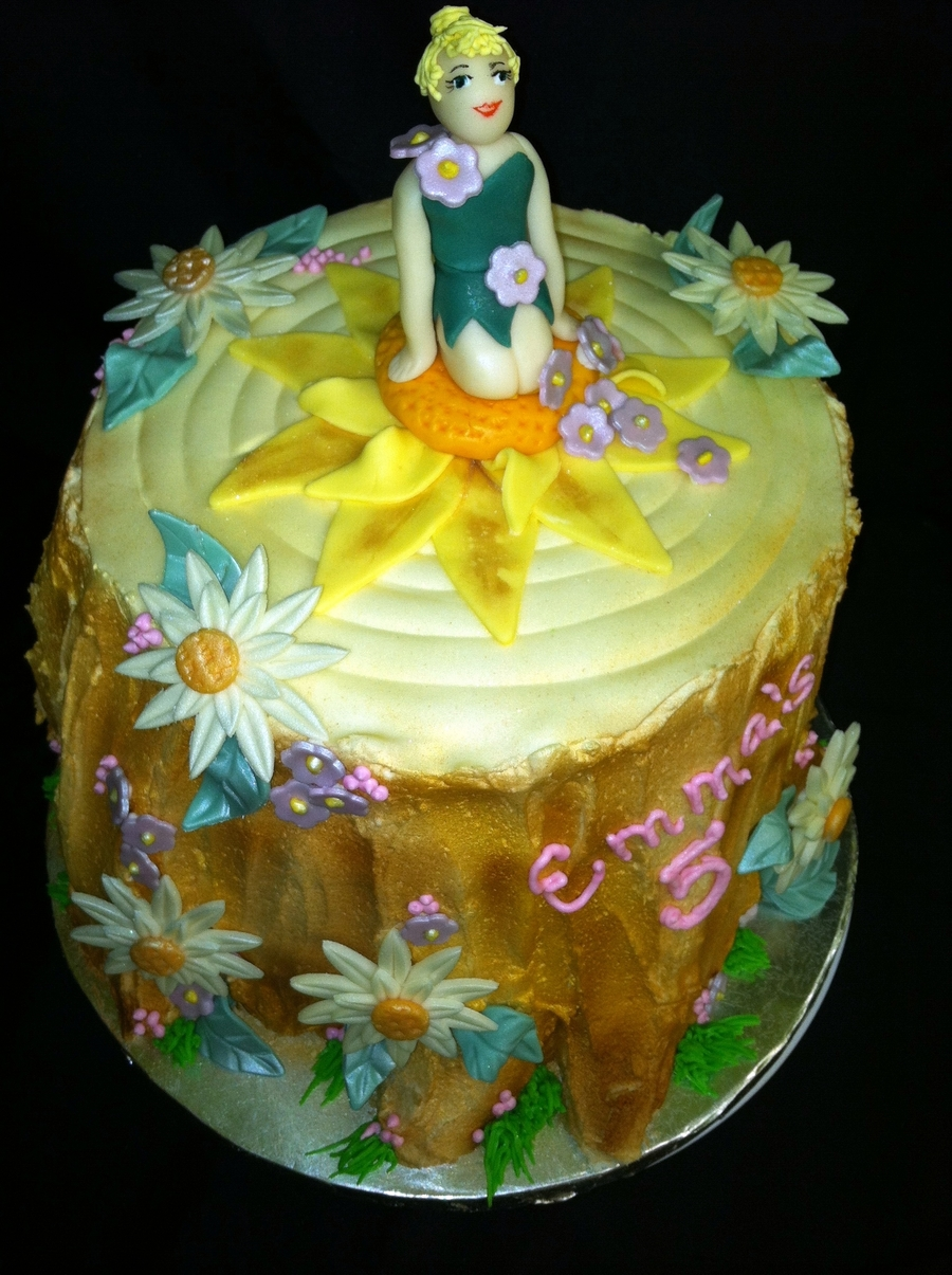 Tinkerbell's Tree Stump on Cake Central