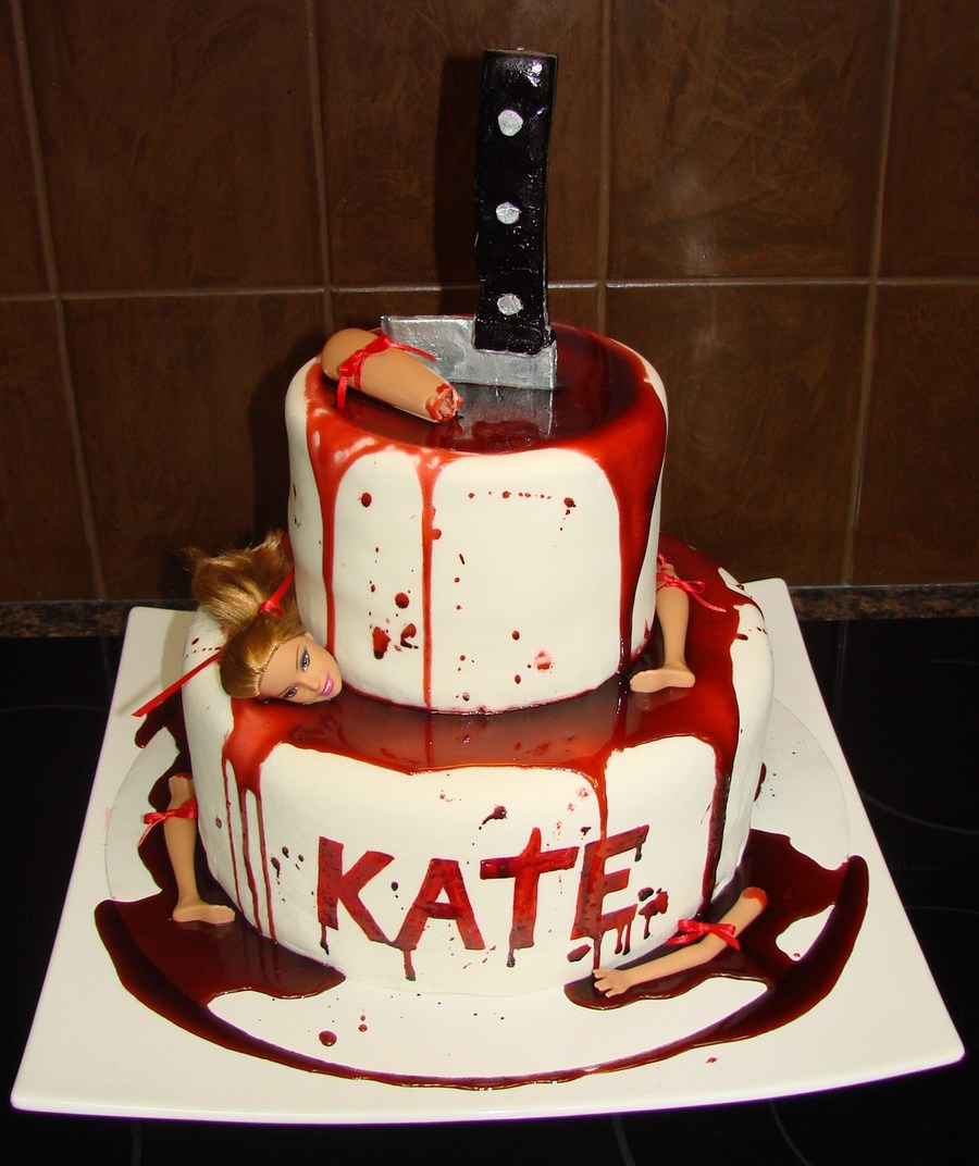 Dexter Theme on Cake Central