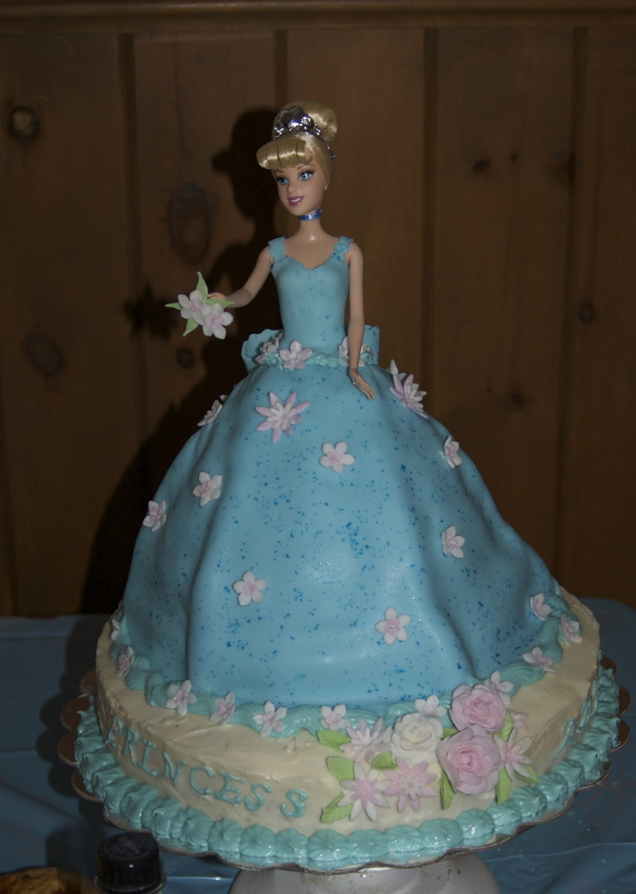 Hmq Cinderella Doll Birthday Cake