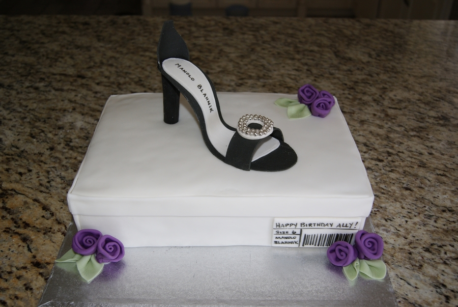 High Heel on Cake Central