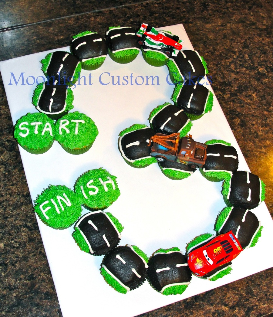 Race Car Cake Toppers