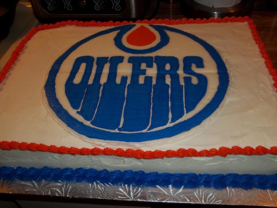 Edmonton Oilers CakeCentralcom