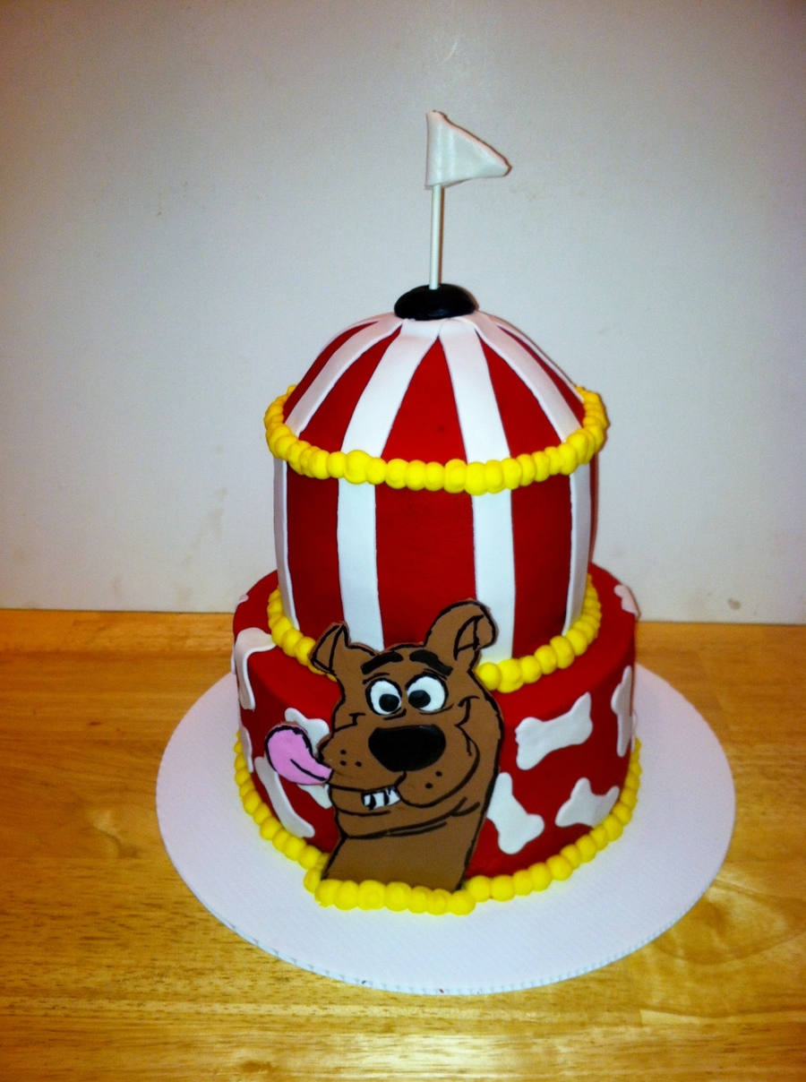 Scooby Doo Carnival Cake on Cake Central