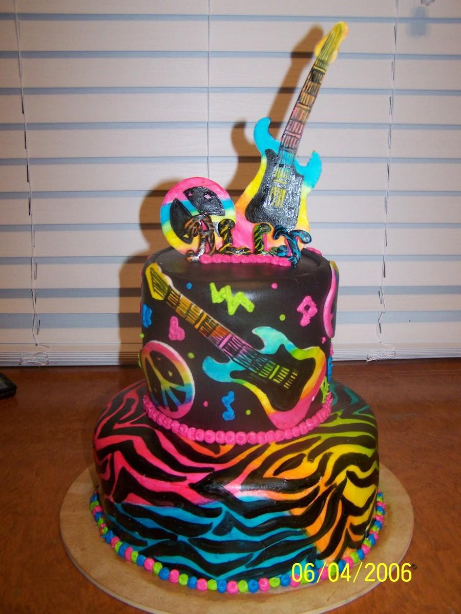 Rock Star Cake Cakecentral Com