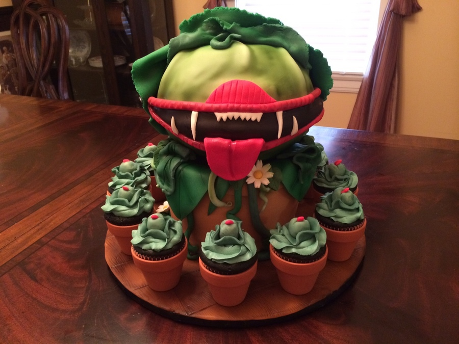 Little Shop Of Horrors Audrey Ii Cakecentral Com