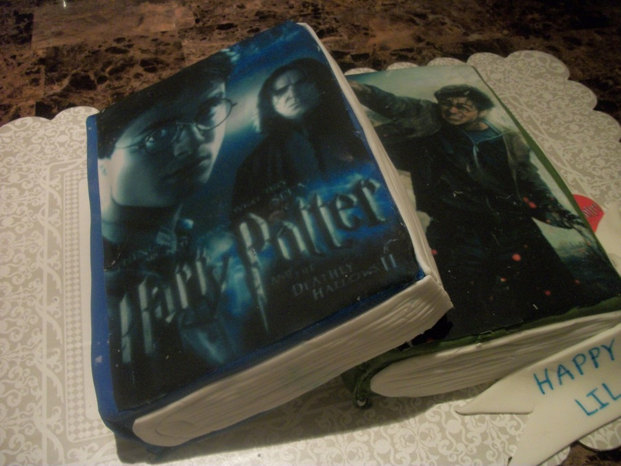 Harry Potter Books on Cake Central
