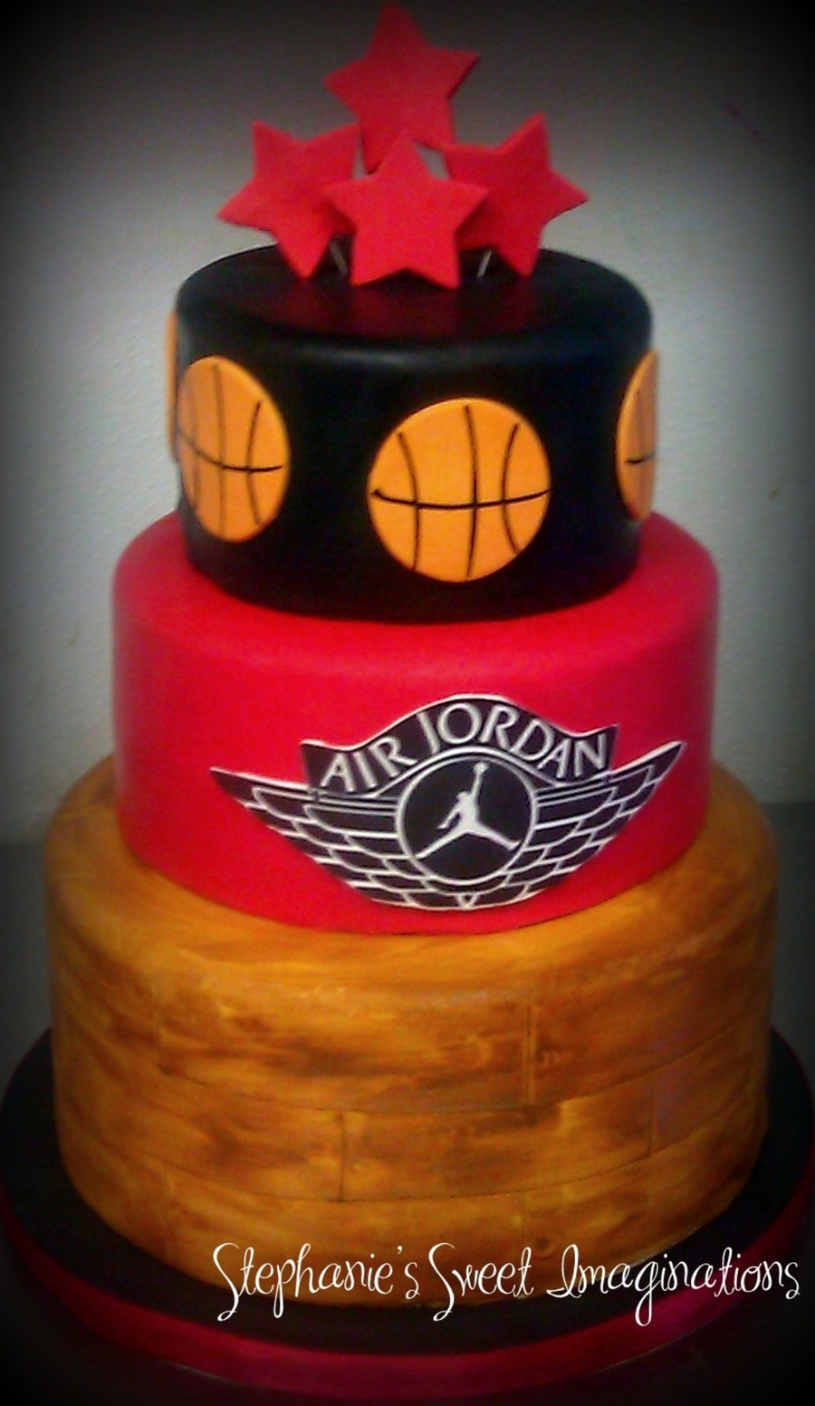 Air Jordan Baby Shower Cake on Cake Central