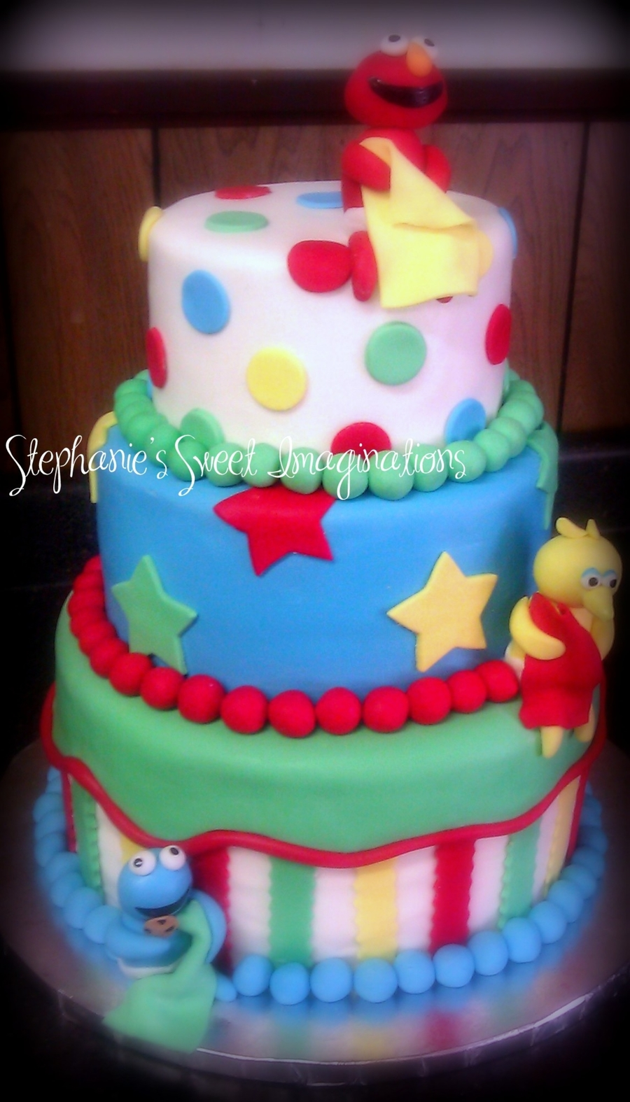 Sesame Street Baby Shower Cake On Cake Central