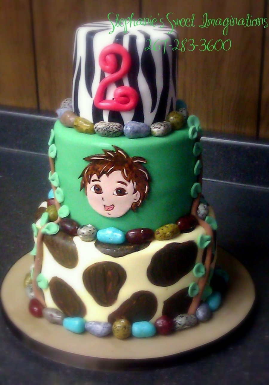 Go Diego Cake on Cake Central