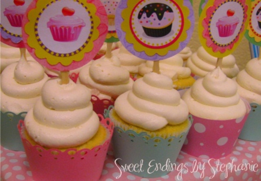 Welcome Baby Cupcakes on Cake Central