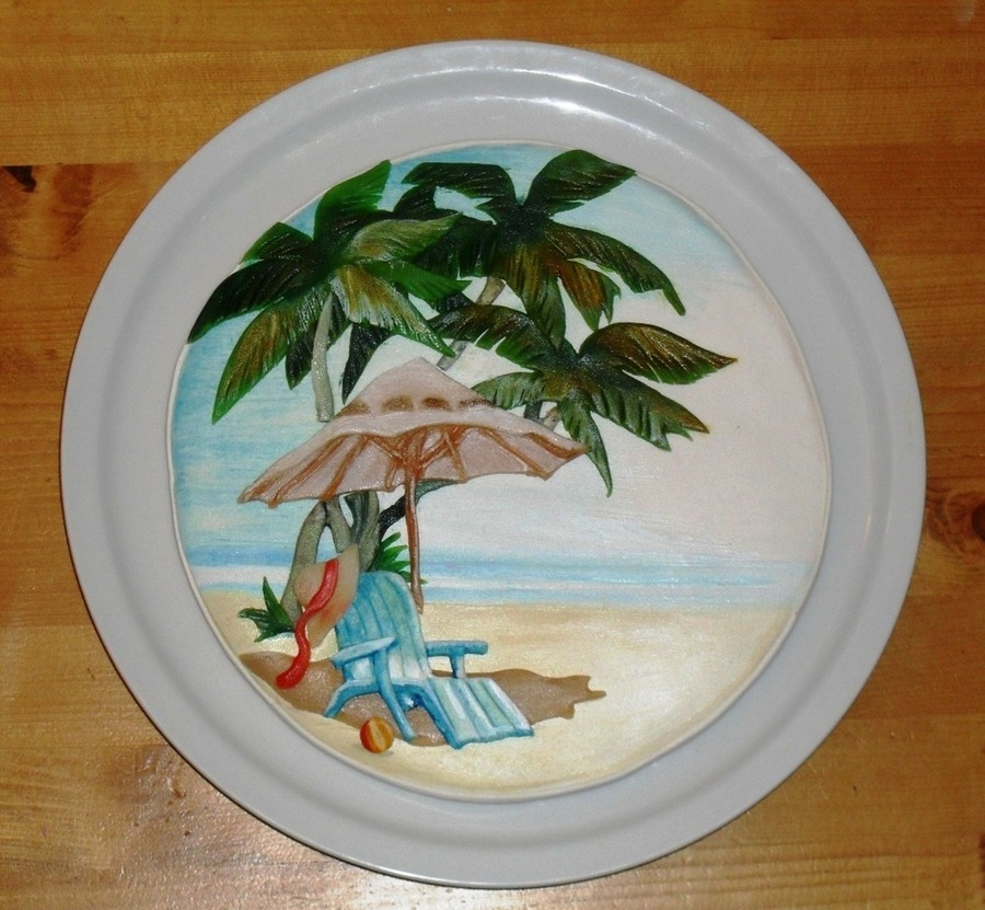 Beach Scene Cookie 2Jpg on Cake Central