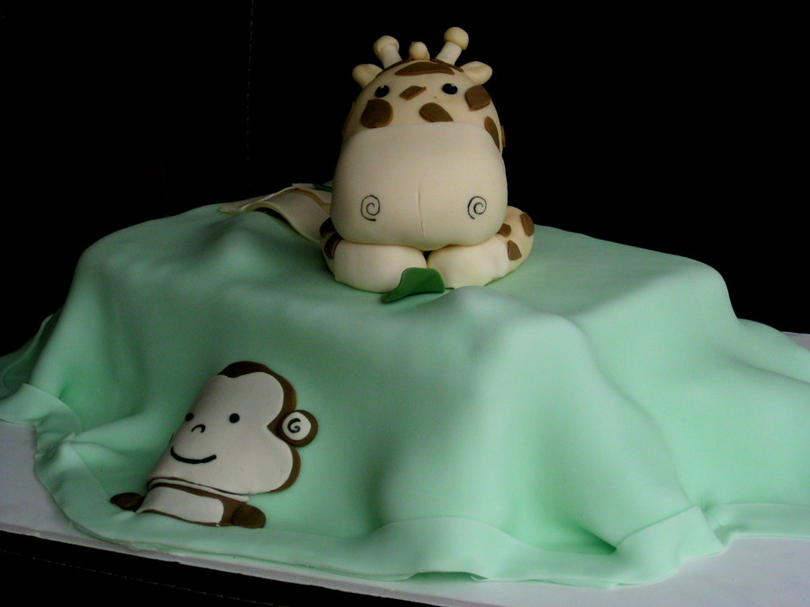 Blanket Birthday Cake on Cake Central
