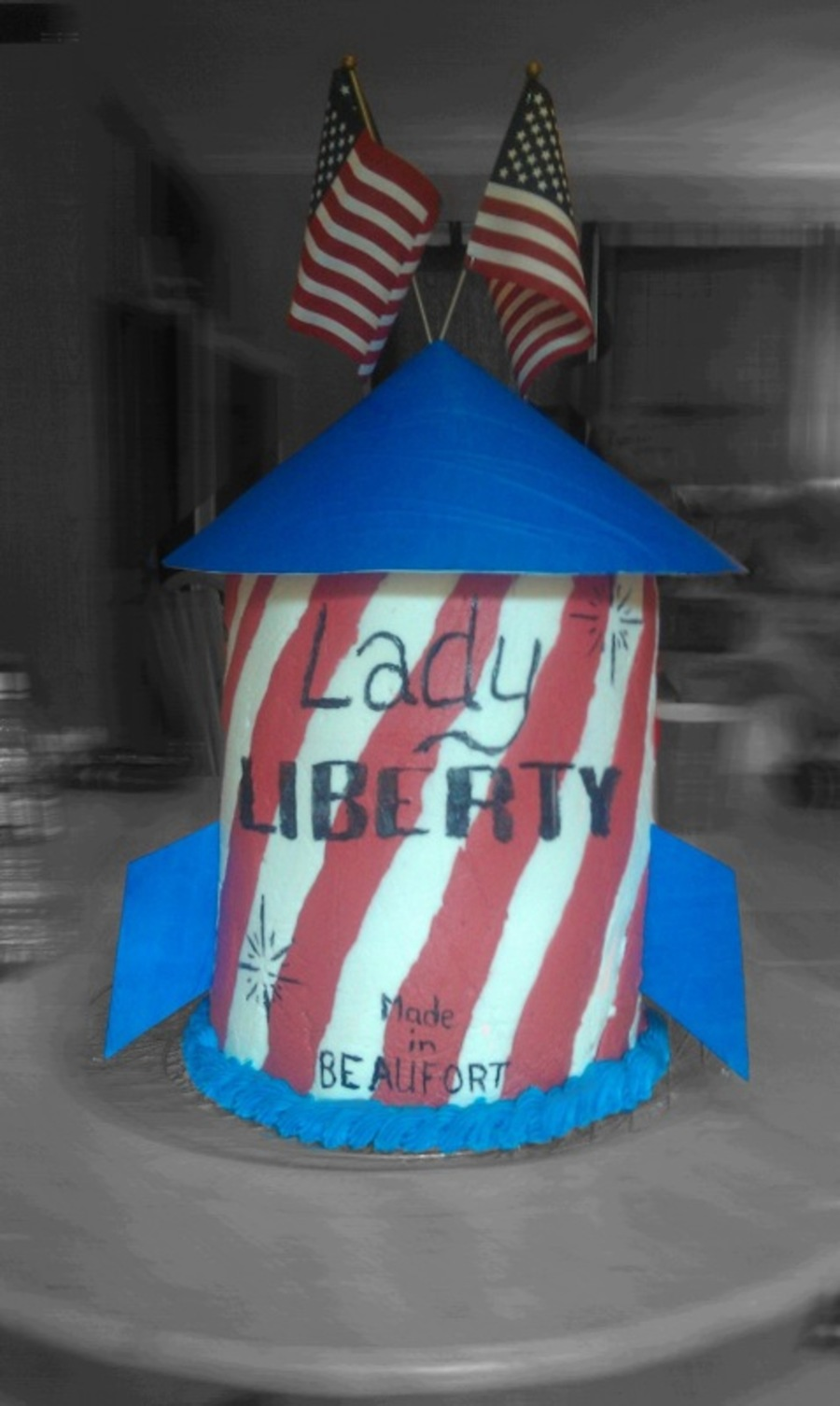 Lady Liberty on Cake Central