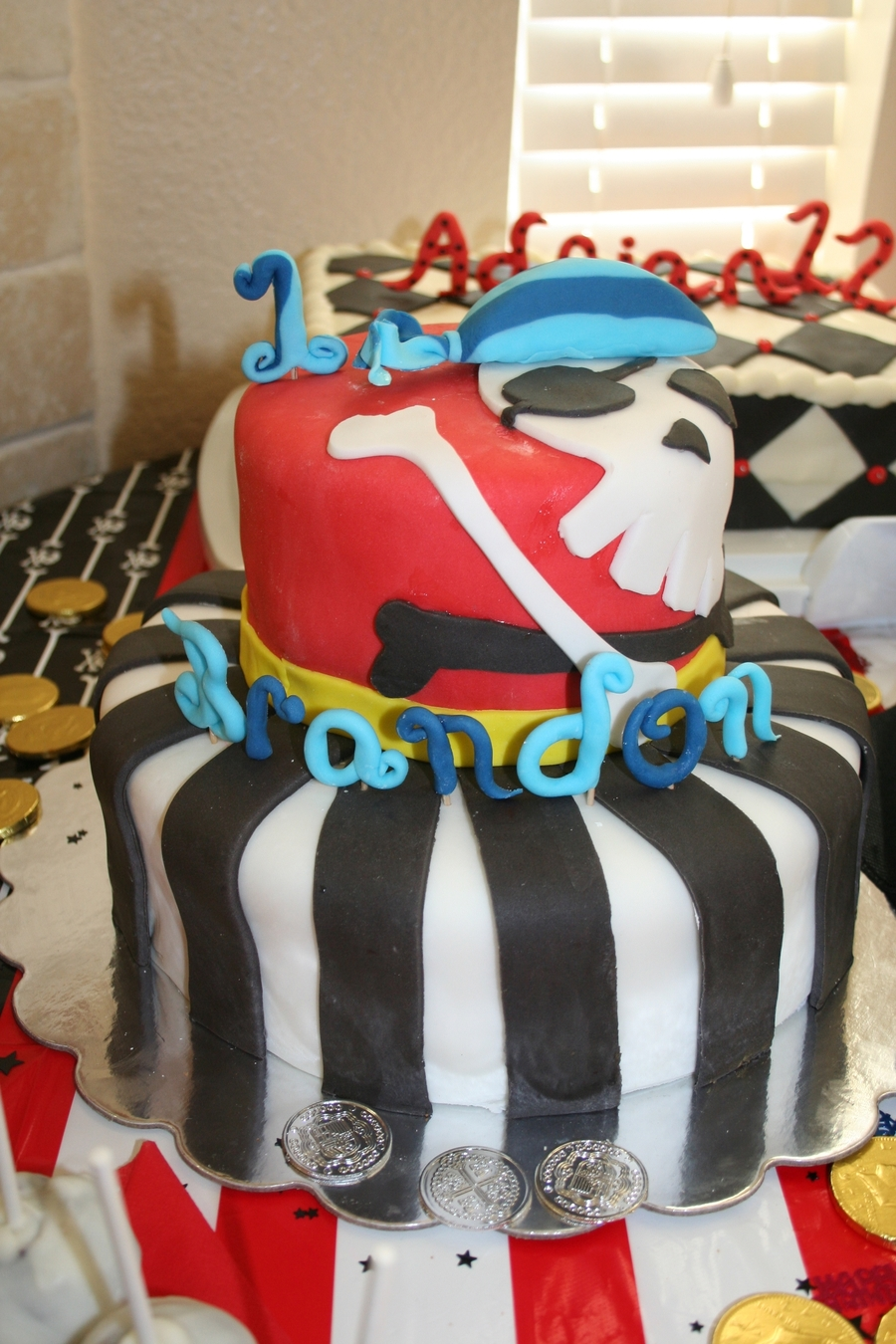 Pirate 1St Birthday on Cake Central