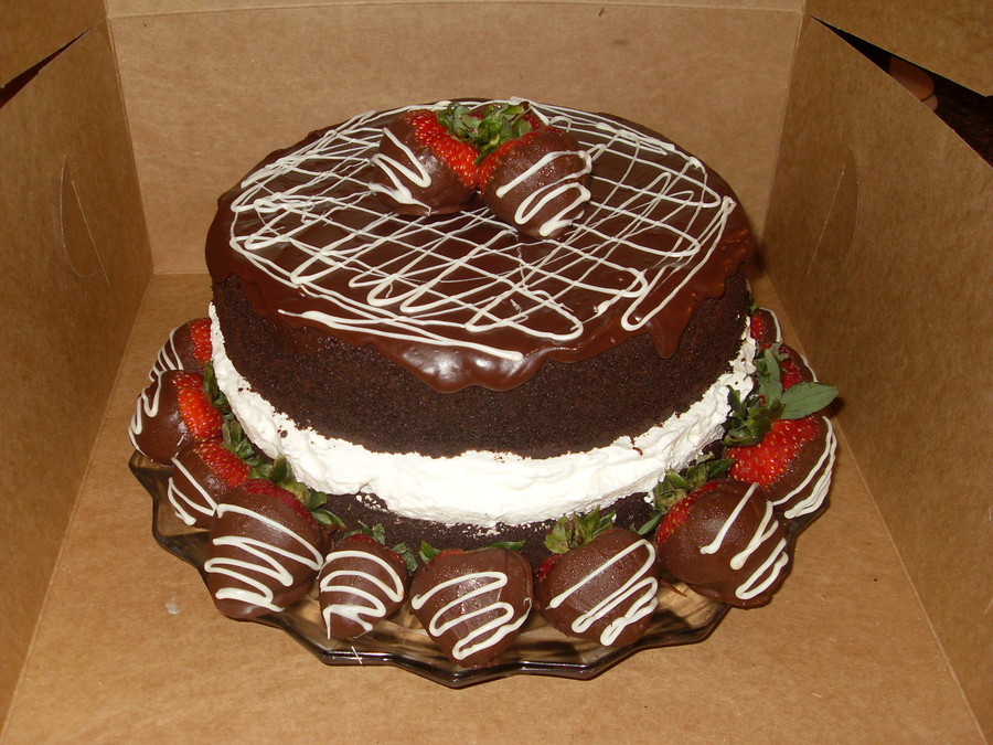 Chocolate Strawberries on Cake Central