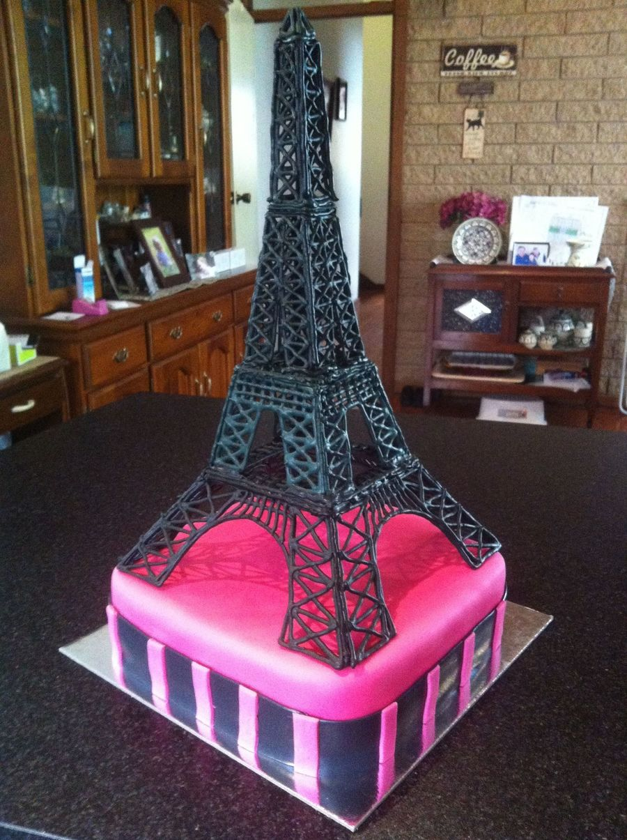 Eiffel Tower Made From Royal Icing on Cake Central