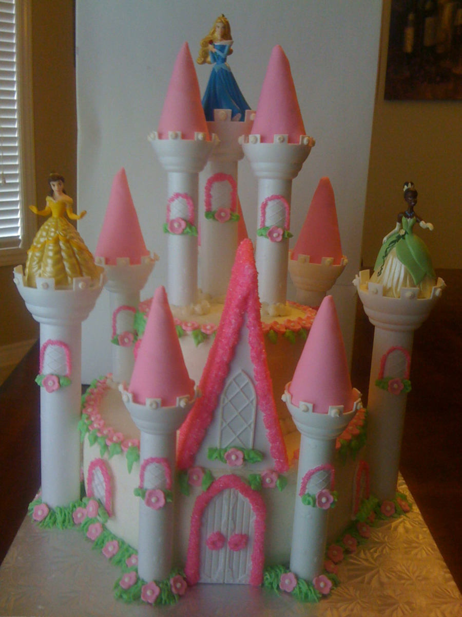 A Magical Castle! on Cake Central
