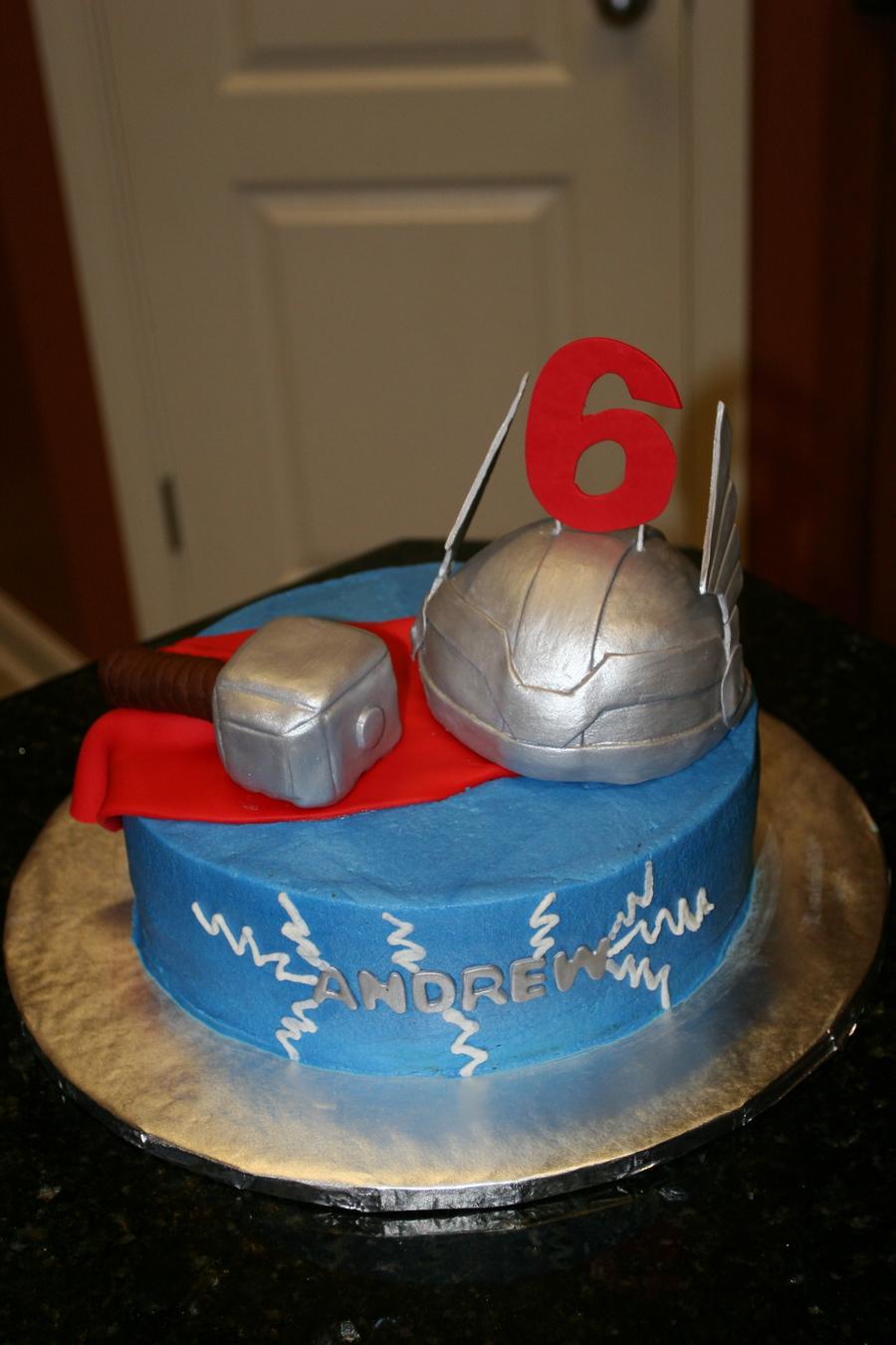 Thor Cake Ideas