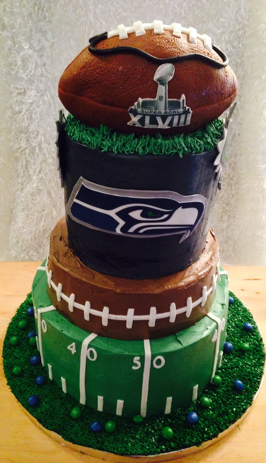 Football Cake Recipes Super Bowl