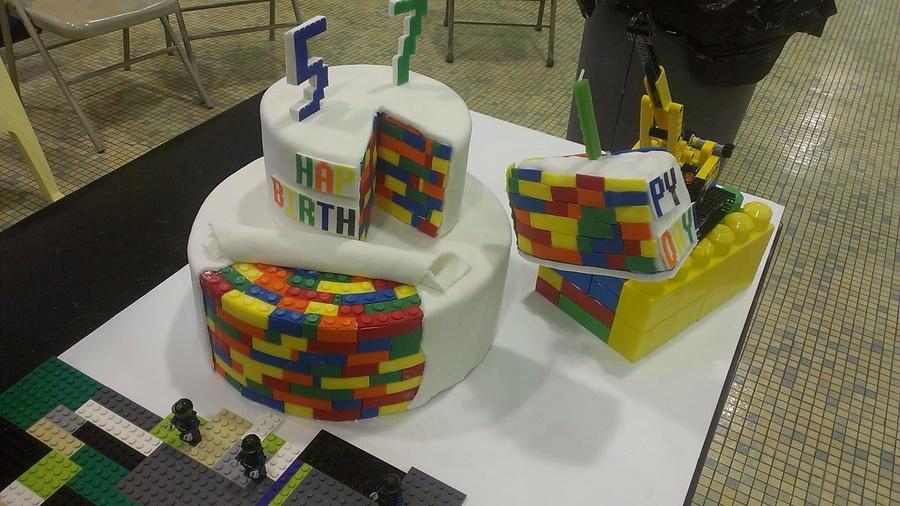 Lego Movie Birthday Cake CakeCentralcom