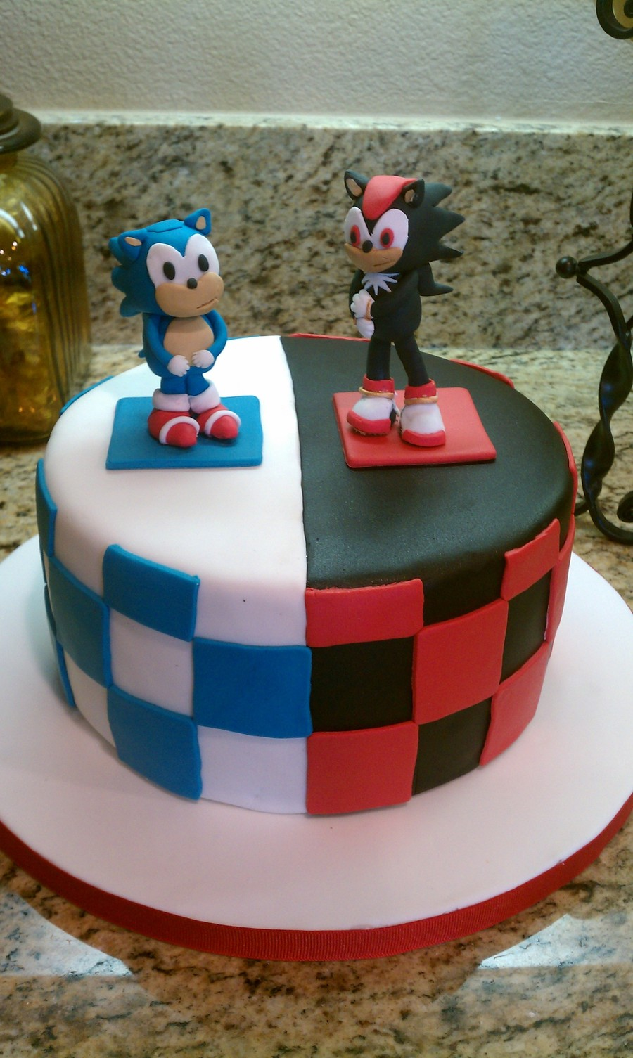 Sonic And Shadow Cakecentral Com