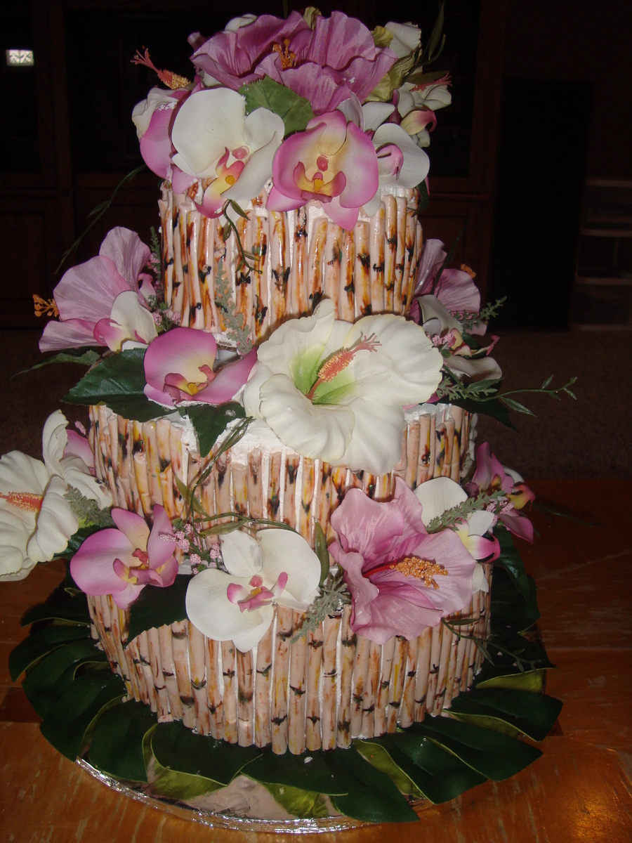 50Th Anniversary Luau Cake on Cake Central