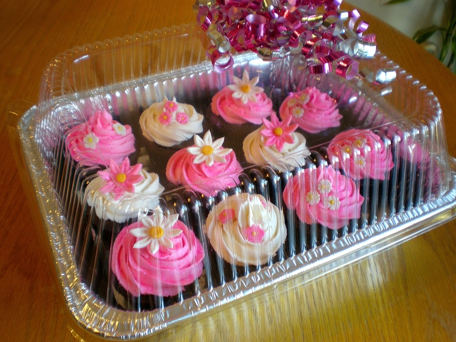 Hot Pink Cupcakes on Cake Central