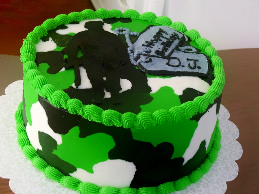 Call Of Duty Modern Warfare Birthday Cake Cakecentral Com