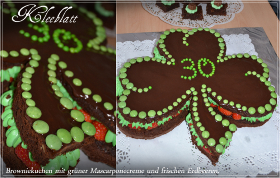 Magnificent Shamrock Birthday Cake Cakecentral Com Birthday Cards Printable Trancafe Filternl