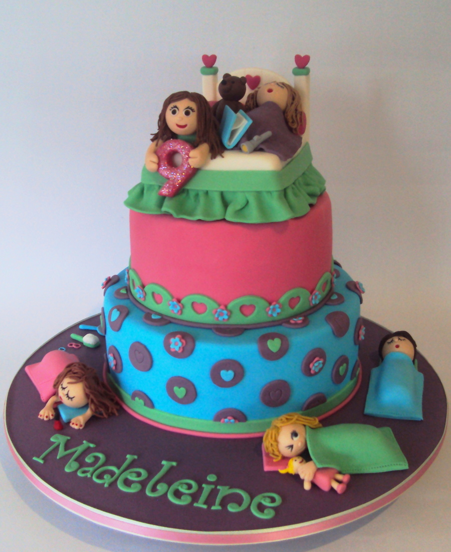 Sleepover Party Cake Cakecentral